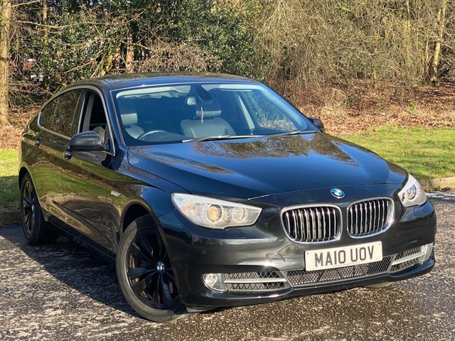 USED 2010 10 BMW 5 SERIES 3.0 530D SE GRAN TURISMO 5d 242 BHP * AUTOMATIC * FULL LEATHER INTERIOR * SUNROOF *