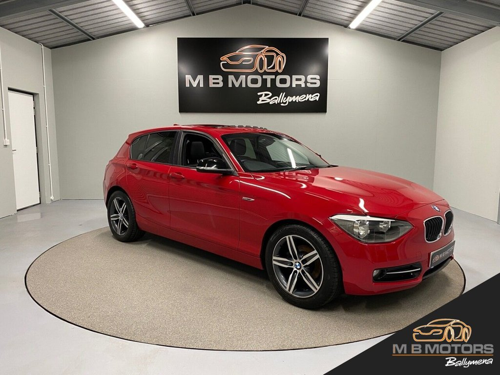 USED 2013 BMW 1 SERIES 116I SPORT TURBO 5d 135 BHP **HUGE SPEC - OVER £4,500 OF FACTORY OPTIONS**