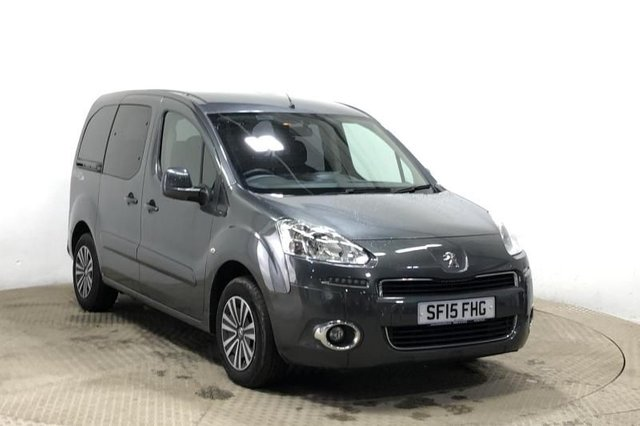 2015 15 PEUGEOT PARTNER 1.6 HDI TEPEE S WHEELCHAIR ACCESSIBLE VEHICLE