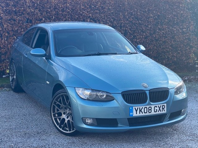 USED 2008 08 BMW 3 SERIES 3.0 325D SE 2d 195 BHP * 12 MONTHS AA BREAKDOWN COVER * FULL LEATHER INTERIOR *