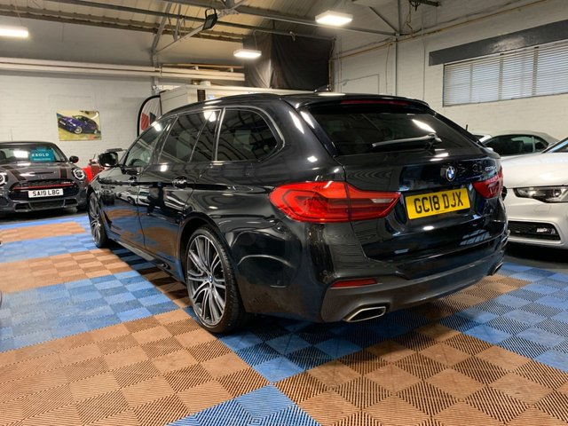 USED 2018 18 BMW 5 SERIES 3.0 530D M SPORT TOURING 5d 261 BHP One Private Owner | Very High Specification