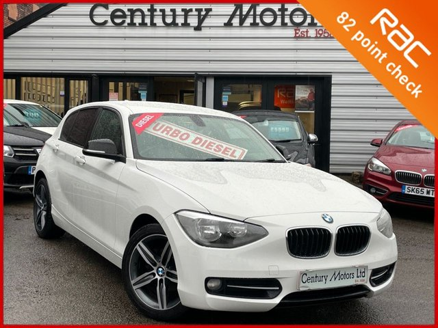 2013 63 BMW 1 SERIES 2.0 116D Sport 5dr - UPGRADE ALLOYS