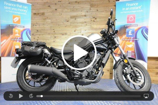 USED 2018 18 HONDA CMX500 REBEL CMX 500 A-X 45 BHP - Low miles