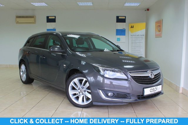 "USED 2015 15 VAUXHALL INSIGNIA 2.0 SRI NAV CDTI 5d 160 BHP BLACK INTERIOR WITH WHITE STITCHING, SATELLITE NAVIGATION, AIR CON, SOFT CLOSE TAILGATE, CRUISE CONTROL, VOICE ACTIVATION, BLUETOOTH, MULTI FUNCTION STEERING WHEEL, REAR PARKING SENSORS, 18"" ALLOYS, ALUMINIUM ROOF RAILS, REAR PRIVACY GLASS, DAB,"
