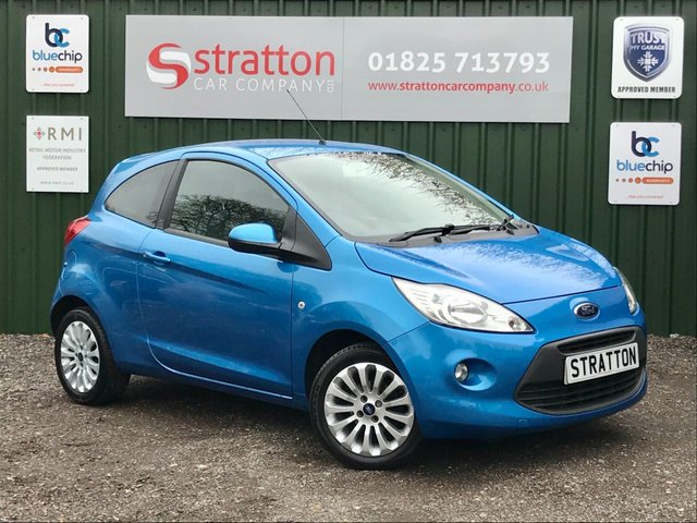 USED 2013 13 FORD KA 1.2 ZETEC 3d 69 BHP ONE OWNER