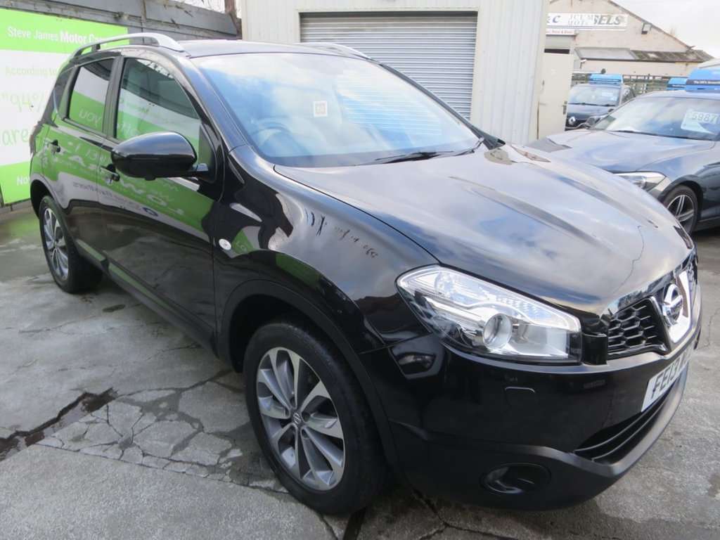 USED 2013 13 NISSAN QASHQAI 1.6 TEKNA IS DCIS/S 5d 130 BHP * FINANCE AVAILABLE + UK DELIVERY AVAILABLE! *