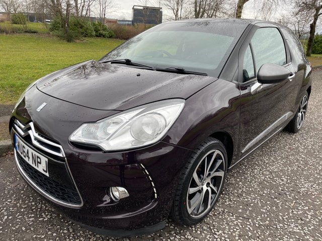 USED 2014 64 CITROEN DS3 1.6 e-HDi Airdream DStyle Plus 3dr Low Miles ! Free Tax ! Leather