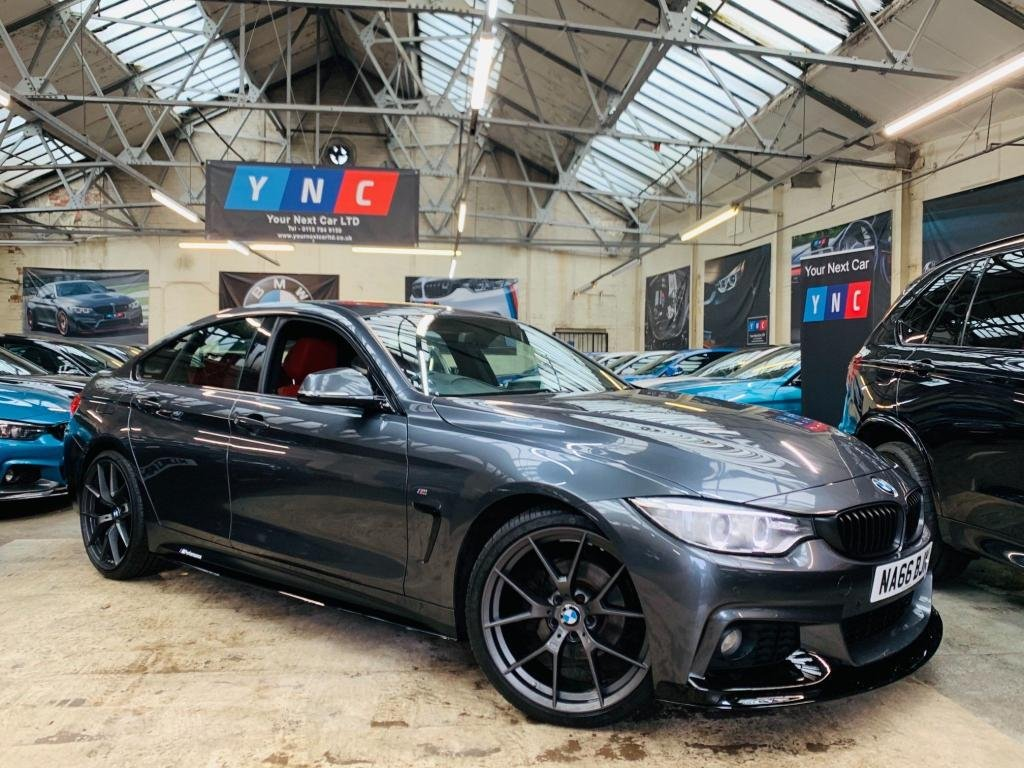 USED 2016 66 BMW 4 SERIES 2.0 420d M Sport Gran Coupe Auto (s/s) 5dr PERFORMANCE KIT 20S REF LTHR!