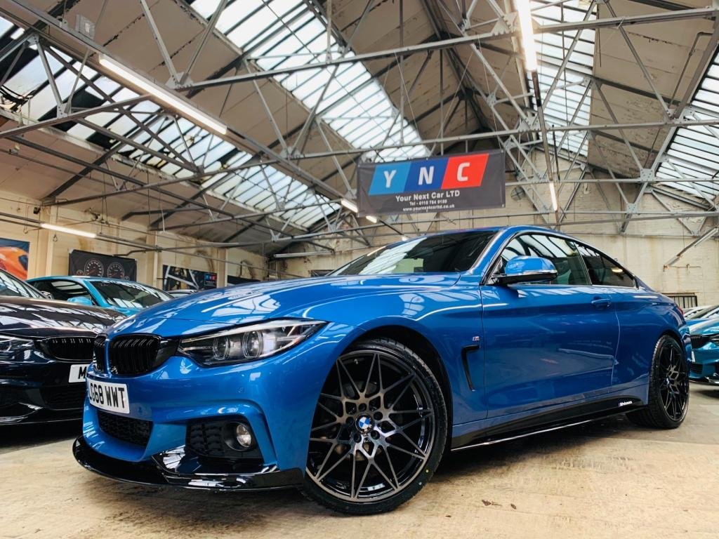 USED 2018 68 BMW 4 SERIES 2.0 420d M Sport Auto (s/s) 2dr PERFORMANCE KIT 20S STUNNER!
