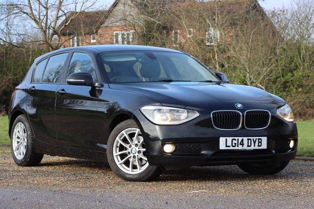 USED 2014 14 BMW 1 SERIES 1.6 116d ED EfficientDynamics Business 5dr 1yrs mot nav&leather