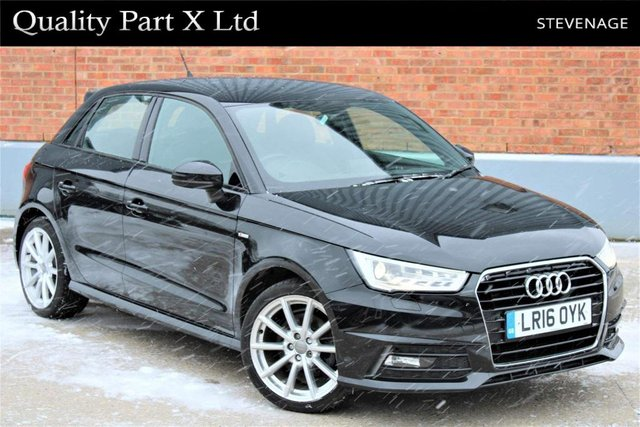 USED 2016 16 AUDI A1 1.6 TDI S line Sportback (s/s) 5dr ULEZ,1 OWNER,BLUETOOTH,XENON