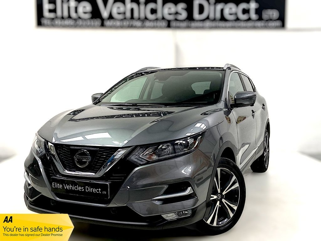 USED 2017 67 NISSAN QASHQAI 1.6 N-CONNECTA DCI XTRONIC 5d 128 BHP