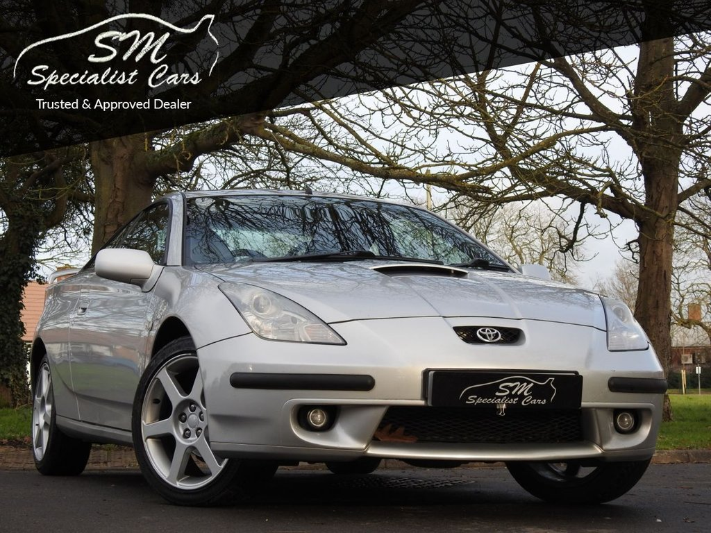 USED 2001 Y TOYOTA CELICA 1.8 VVT-I 3d 140 BHP FULL LEATHER A/C VGC