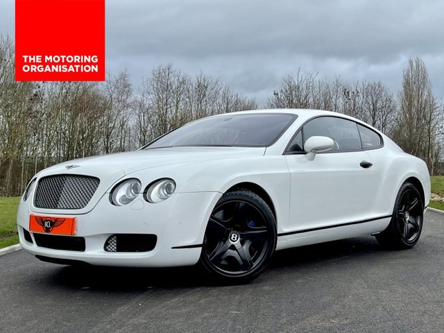 USED 2004 04 BENTLEY CONTINENTAL 6.0 GT W12 550 BHP AUTO/PADDLESHIFT 2DR COUPE +SAT NAV+550BHP+ULEZ OK+