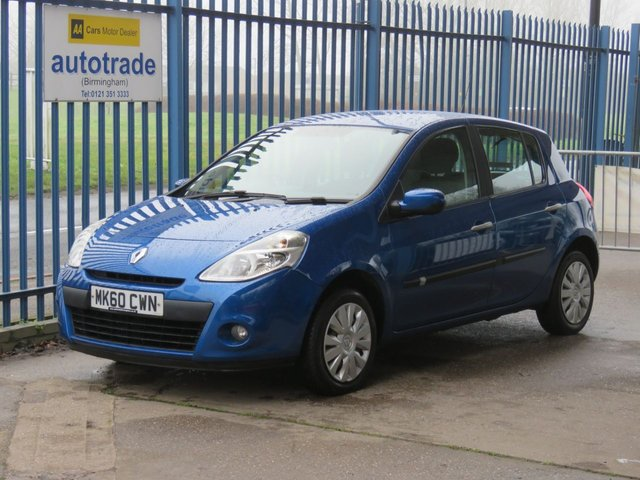 USED 2010 60 RENAULT CLIO 1.1 EXPRESSION 16V 5d 74 BHP Air Conditioning,CD Player,Electric windows and mirrors