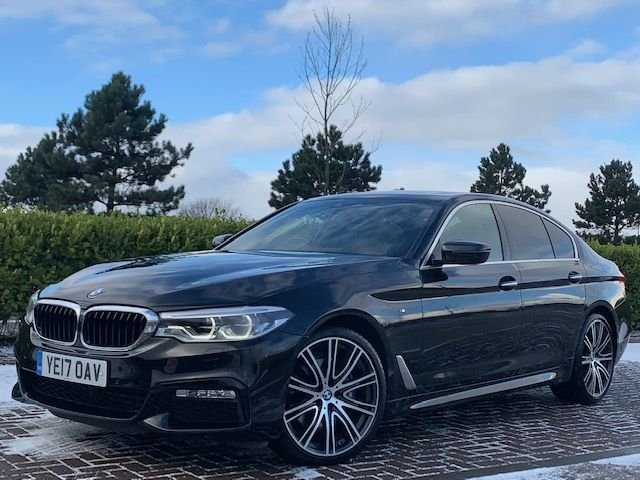 USED 2017 17 BMW 5 SERIES 3.0 530D XDRIVE M SPORT 4d 261 BHP