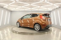 USED 2016 66 FORD FIESTA 1.0 ZETEC S 3d 124 BHP COPPER PULSE SPECIAL PAINT, DAB, BLUETOOTH, AIR CON, FRESHLY POWDER COATED ALLOYS...