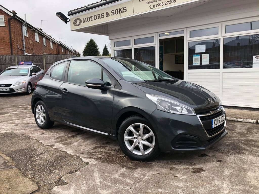 USED 2015 15 PEUGEOT 208 1.2 ACTIVE 3d 82 BHP