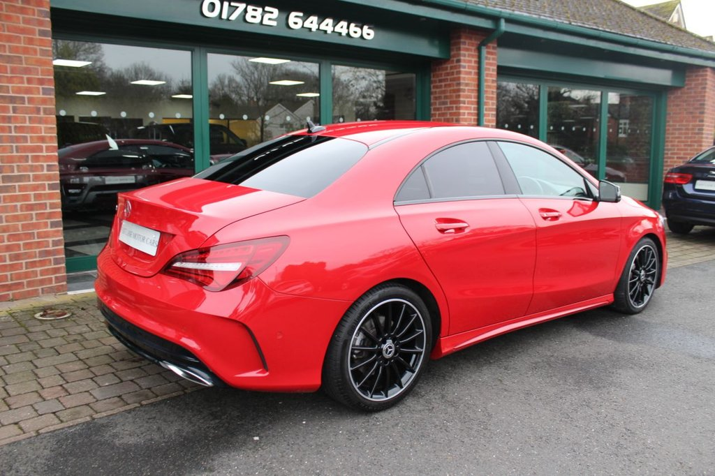 USED 2018 18 MERCEDES-BENZ CLA 2.1 CLA 220 D AMG LINE 4d 174 BHP