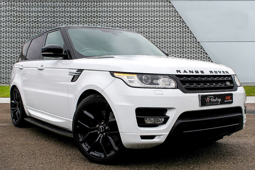 """USED 2015 15 LAND ROVER RANGE ROVER SPORT 3.0 SDV6 HSE 5d 306 BHP **7 SEATS/22"""" ALLOYS/P-ROOF**"""