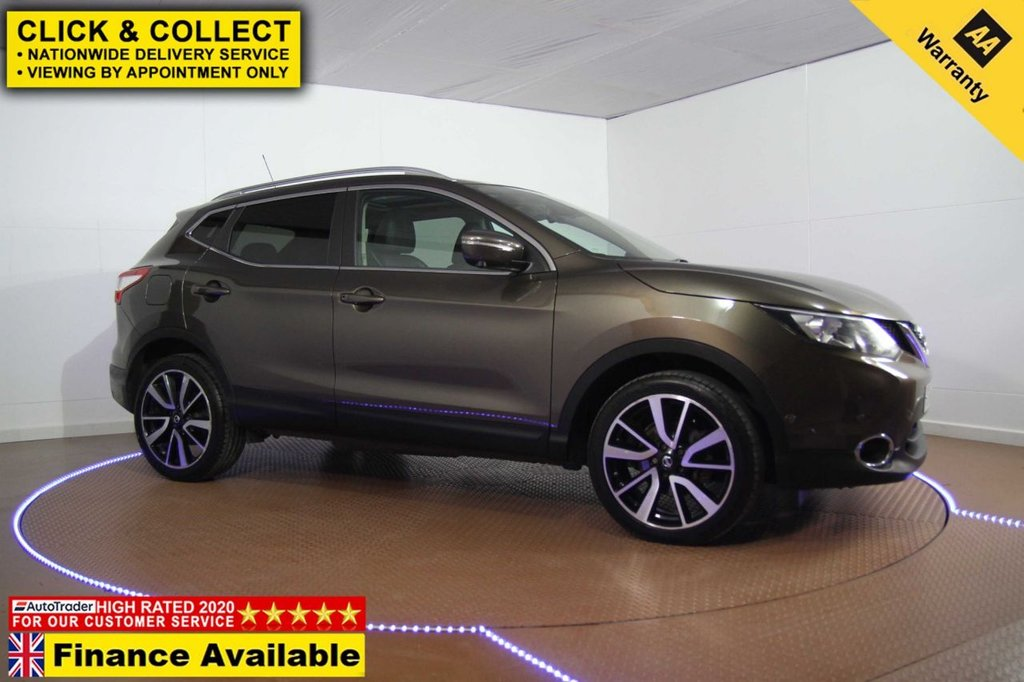USED 2014 14 NISSAN QASHQAI 1.2 TEKNA DIG-T 5d 113 BHP FULL HISTORY-LONG MOT-FINANCE