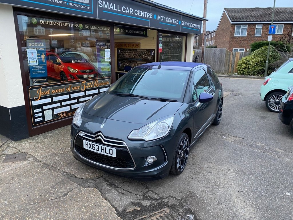 USED 2013 63 CITROEN DS3 1.6 DSTYLE PLUS 3d 120 BHP BLUETOOTH - USB - AIRCON - CRUISE CONTROL - CONVERTIBLE