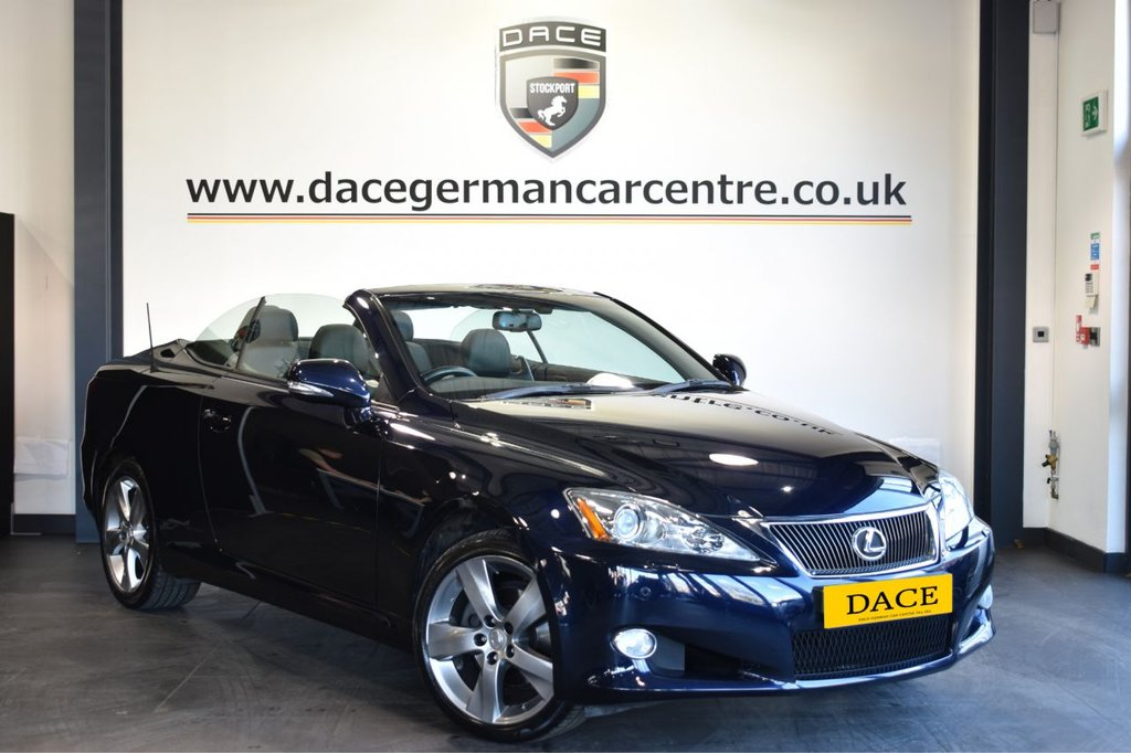 USED 2010 LEXUS IS 250 IS 250C SE-L AUTO