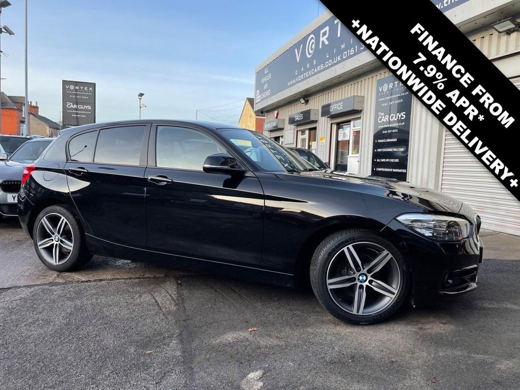 USED 2015 65 BMW 1 SERIES 1.5 118I SPORT 5d 134 BHP SAT-NAV + GREAT HISTORY