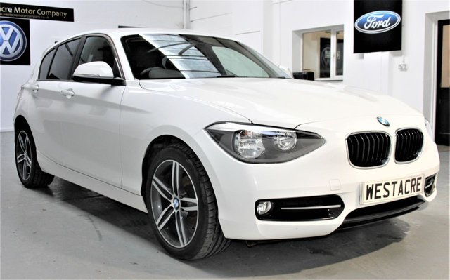 2015 65 BMW 1 SERIES 2.0 116D SPORT 5d 114 BHP