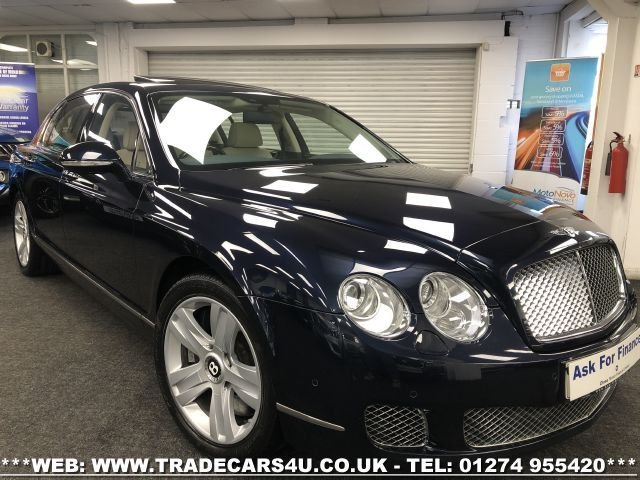 USED 2011 61 BENTLEY CONTINENTAL FLYING SPUR 6.0 FLYING SPUR SPEED 4d 600 BHP FREE UK DELIVERY*VIDEO AVAILABLE* FINANCE ARRANGED* PART EX*HPI CLEAR