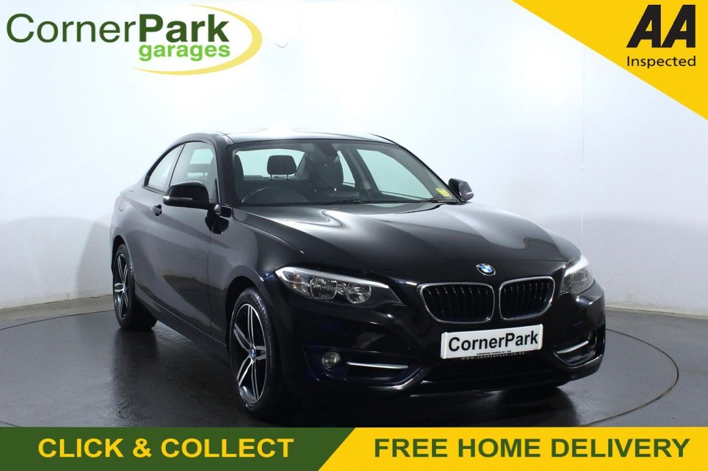USED 2016 BMW 2 SERIES 218i Sport 2dr [Nav] Step Auto