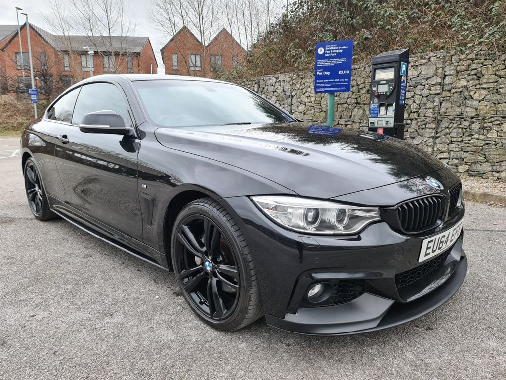 USED 2014 64 BMW 4 SERIES 3.0 435D XDRIVE M SPORT 2d 309 BHP Free Next Day Nationwide Delivery