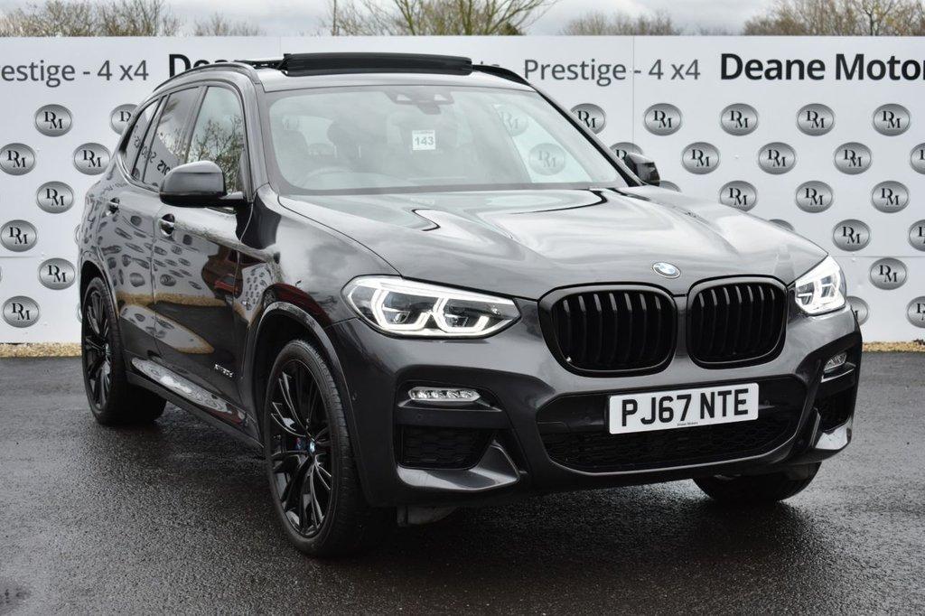USED 2017 67 BMW X3 3.0 XDRIVE30D M SPORT 5d 261 BHP AMAZING SPEC