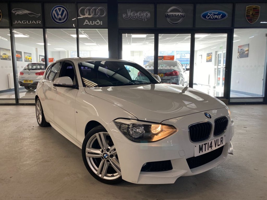 USED 2014 14 BMW 1 SERIES 2.0 118D M SPORT 5d 141 BHP Complementary 12 Months RAC Warranty and 12 Months RAC Breakdown Cover Also Receive a Full MOT With All Advisory Work Completed, Fresh Engine Service and RAC Multipoint Check Before Collection/Delivery