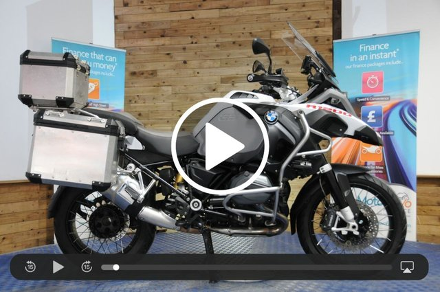 USED 2016 66 BMW R1200GS ADVENTURE R 1200 GS ADVENTURE - BMW Service history