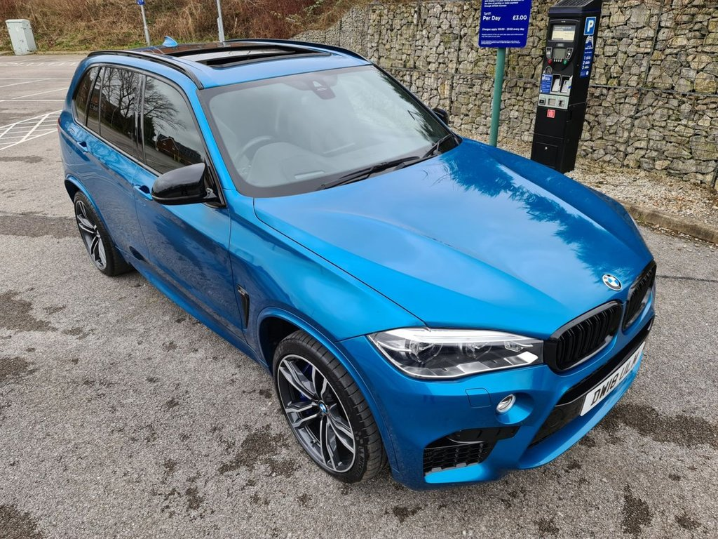 USED 2018 18 BMW X5 4.4 M 5d 568 BHP Free Next Day Nationwide Delivery