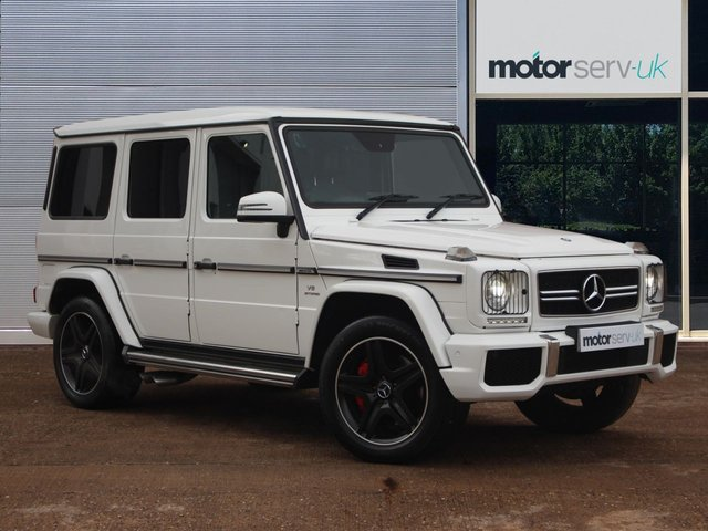 USED 2014 14 MERCEDES-BENZ G-CLASS 5.5 G63 AMG 5d 544 BHP