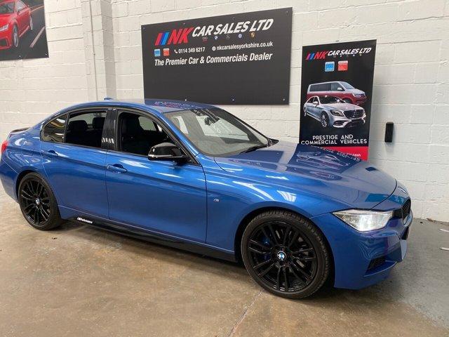 USED 2014 64 BMW 3 SERIES 2.0 320D M SPORT 4d 181 BHP SAT NAV HEATED FRONT SEATS 19 INCH ALLOYS HARMON KARDON SOUND