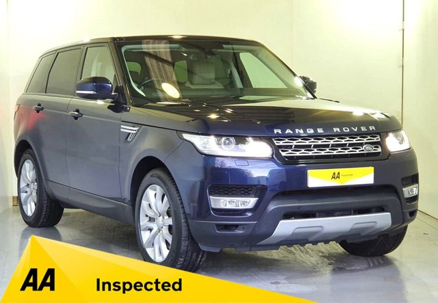 USED 2016 16 LAND ROVER RANGE ROVER SPORT 3.0 SDV6 HSE 5d 306 BHP