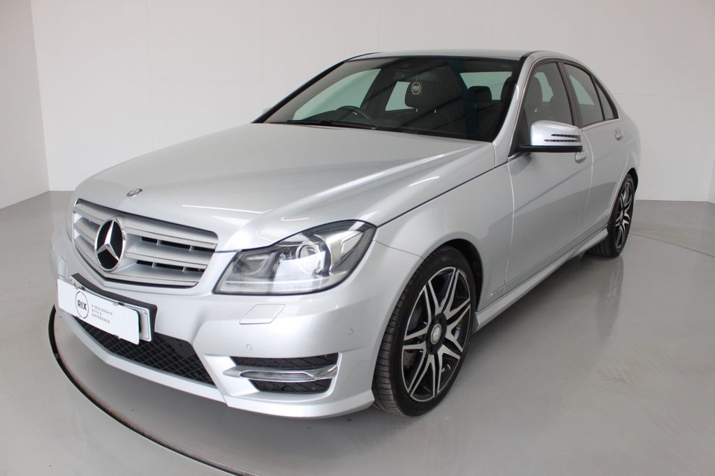 USED 2013 63 MERCEDES-BENZ C-CLASS 2.1 C250 CDI BLUEEFFICIENCY AMG SPORT PLUS 4d AUTO 202 BHP-2 OWNER CAR-LOW MILEAGE EXAMPLE-7 MERCEDES SERVICES