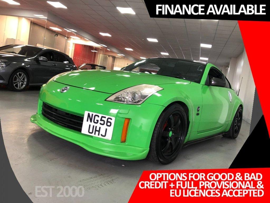 USED 2006 56 NISSAN 350 Z 3.5 GT V6 3d 297 BHP * REVERSE CAMERA * SAT NAV *