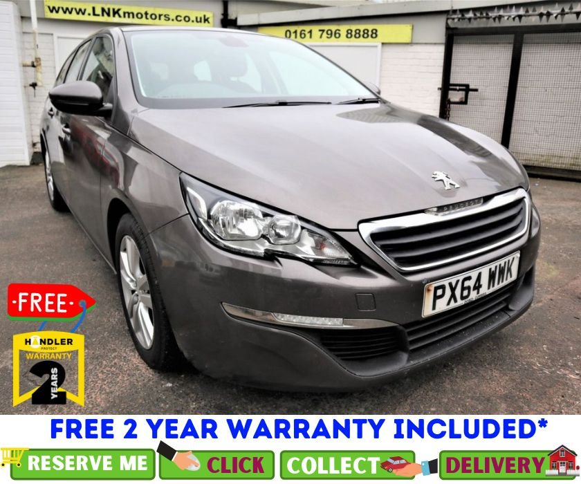 USED 2014 64 PEUGEOT 308 1.6 HDI SW ACTIVE 5d 115 BHP *CLICK & COLLECT OR DELIVERY