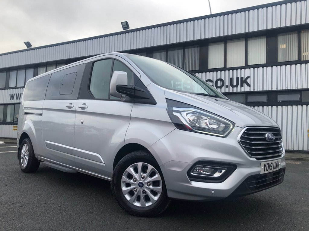USED 2019 19 FORD TOURNEO CUSTOM 9 SEATS 2.0 320 TITANIUM 4d 129 BHP £458 a month, T&Cs apply.