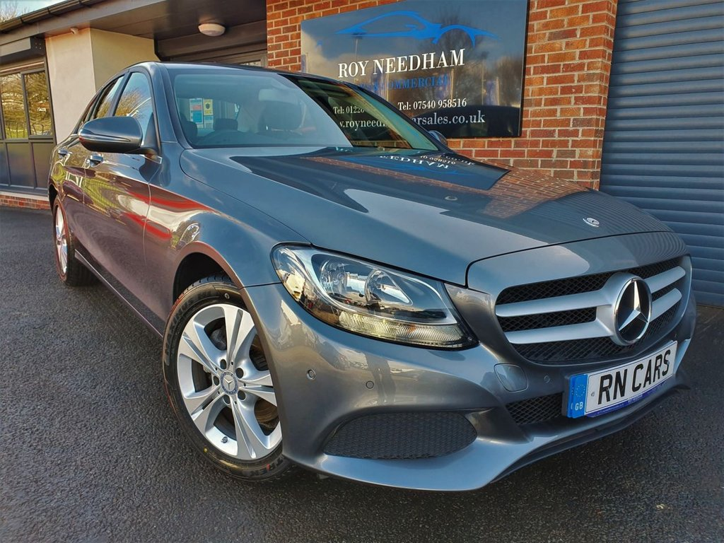 USED 2016 66 MERCEDES-BENZ C-CLASS 2.1 C 220 D SE EXECUTIVE EDITION 4DR 170 BHP * SAT NAV - HEATED LEATHER - REV CAM *