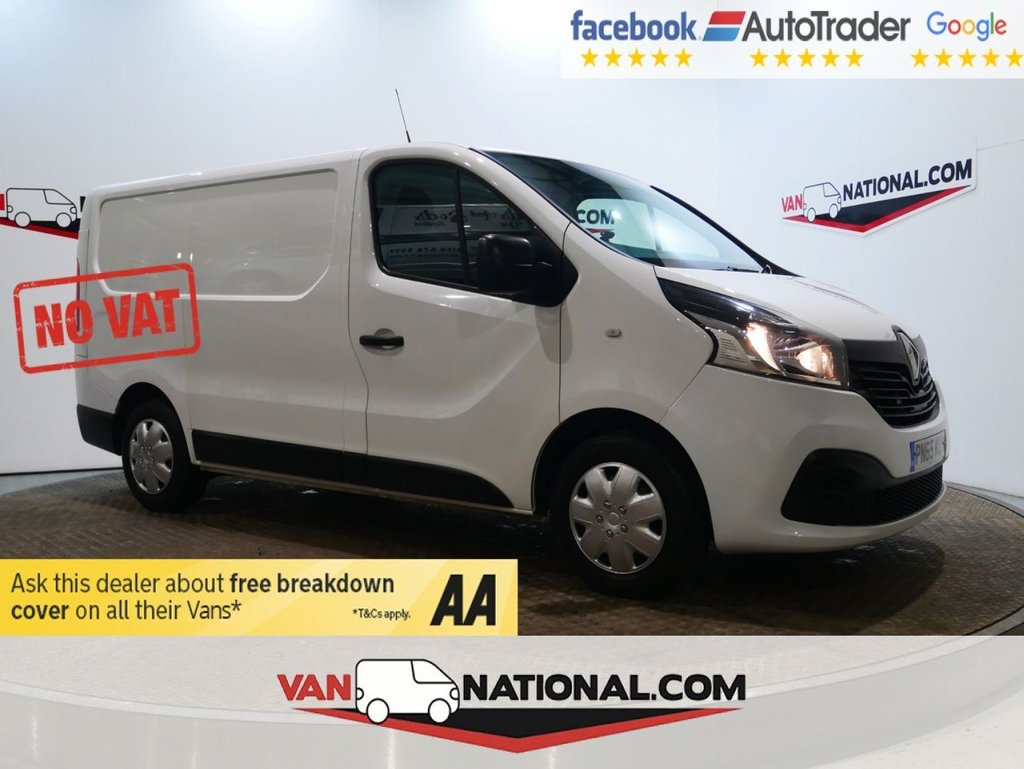 USED 2015 65 RENAULT TRAFIC 1.6 SL27 BUSINESS PLUS DCI 115 BHP *NO VAT*NO VAT*NO VAT* * NO VAT * AIR CON * SENSORS * ZERO DEPOSIT FINANCE AVAILABLE *