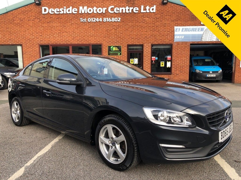 USED 2015 65 VOLVO S60 2.0 D3 BUSINESS EDITION 4d 148 BHP FULL SERVICE HISTORY