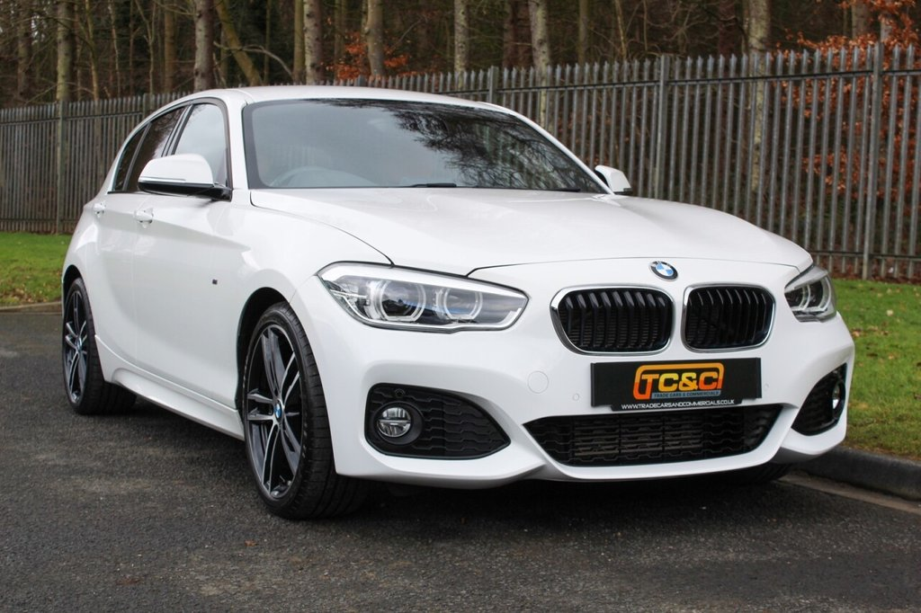 USED 2017 67 BMW 1 SERIES 1.5 116D M SPORT 5d 114 BHP A STUNNING ONE OWNER, LOW MILEAGE 116D M SPORT WITH FULL BMW SERVICE HISTORY!!!