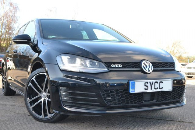 USED 2014 64 VOLKSWAGEN GOLF 2.0 GTD 5d 184 BHP FULL VW SERVICE HISTORY ~ HEATED SEATS~MICHELIN PILOT SPORT TYRES ALL ROUND~2 KEYS
