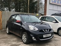USED 2016 66 NISSAN MICRA 1.2 ACENTA 5d 5 Seat Family Hatchback Petrol AUTO Have you ever seen a Micra with a spoiler?