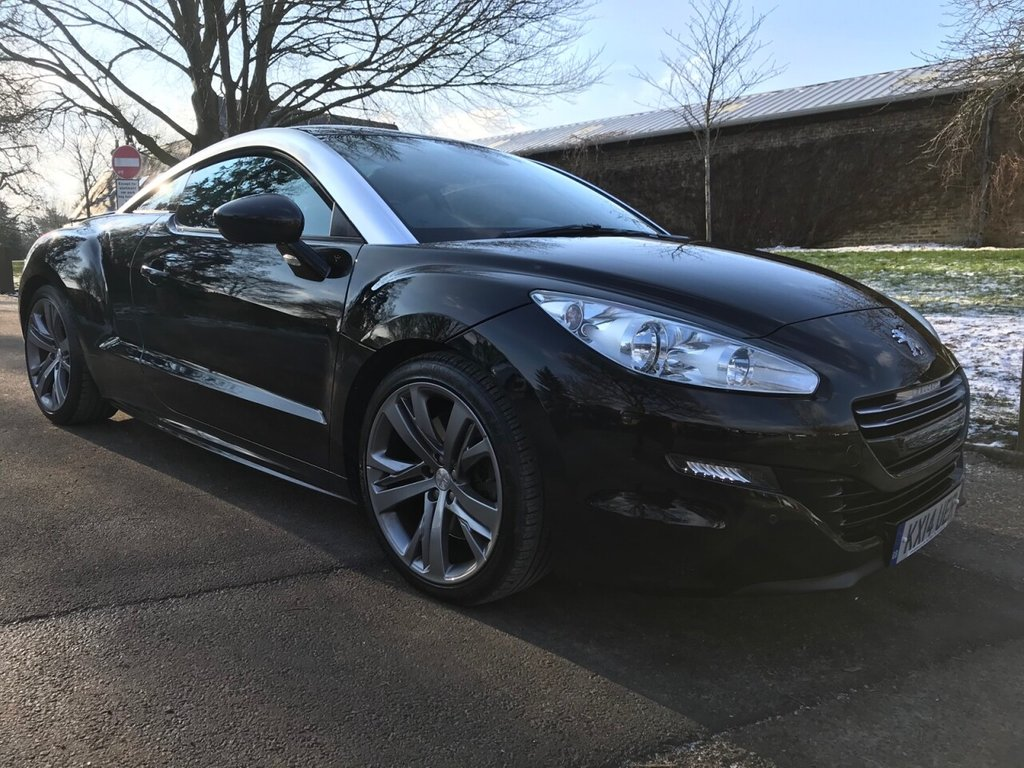 USED 2014 14 PEUGEOT RCZ 1.6 THP GT 2d 200 BHP Stunning Low Mileage And Big Specification RCZ GT